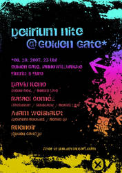 Delirium Nite at Golden Gate by LiN0