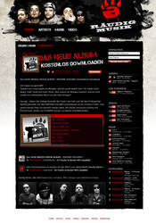 Raeudig Website by LiN0
