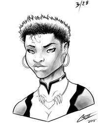 Vixen DC comics by rewinde