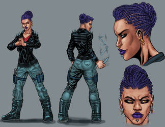 shadow agency character design 1  by rewinde