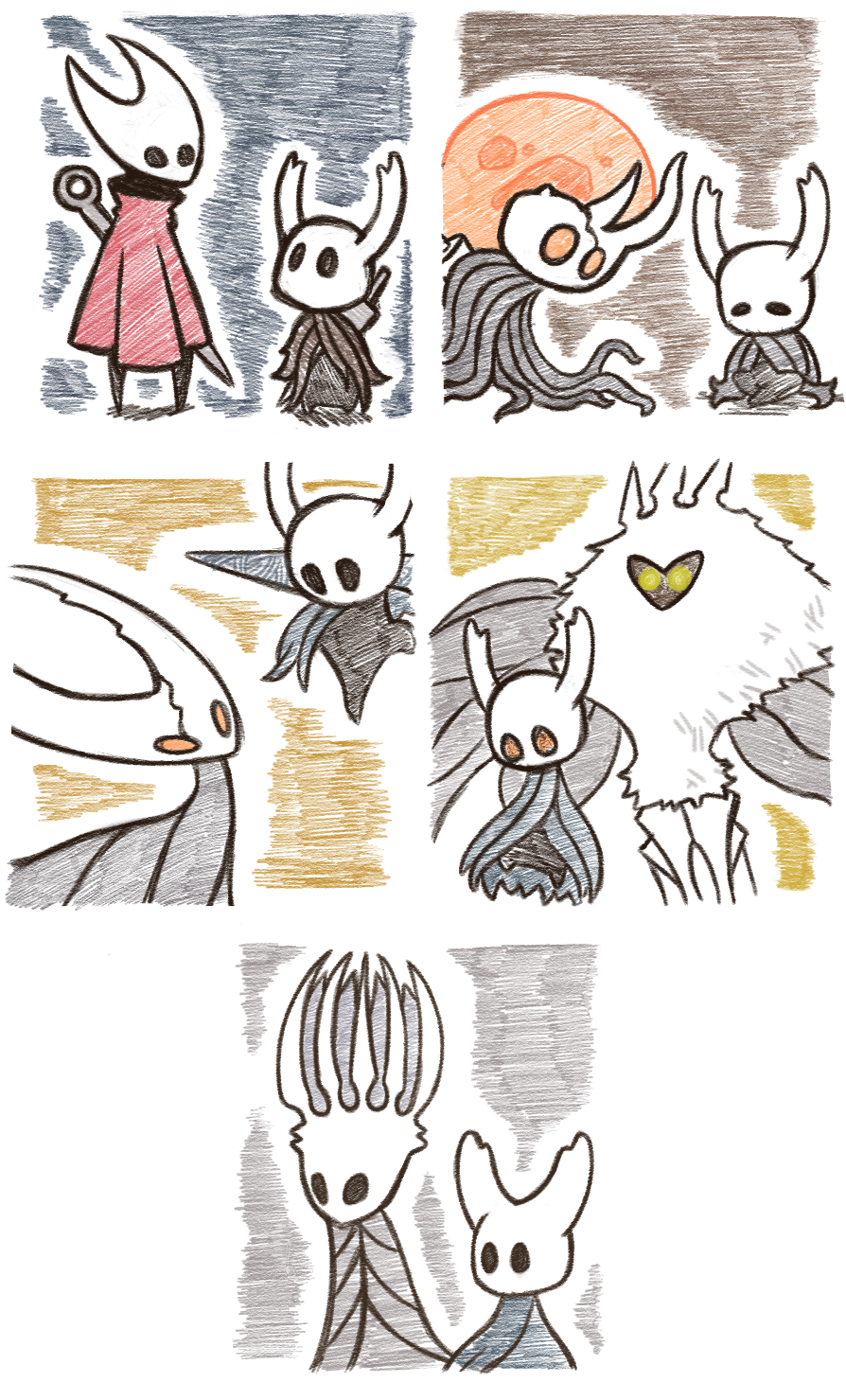 Hollow Knight Sketches