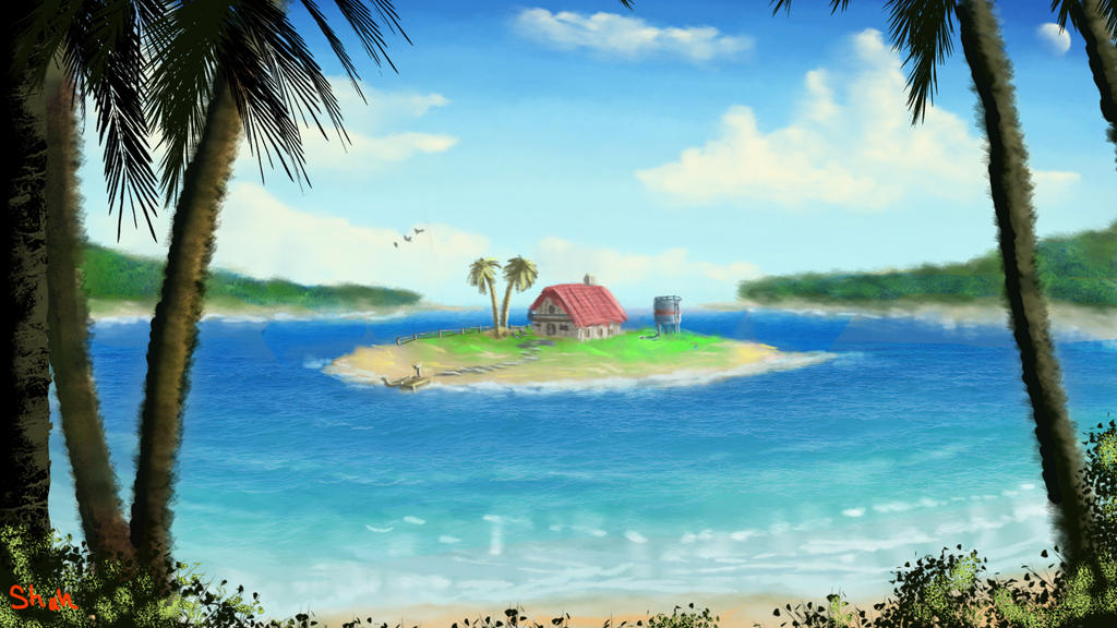 Speed painting - Seascape by IRCSS