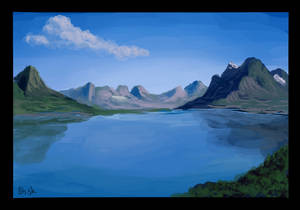 Speed painting - lake