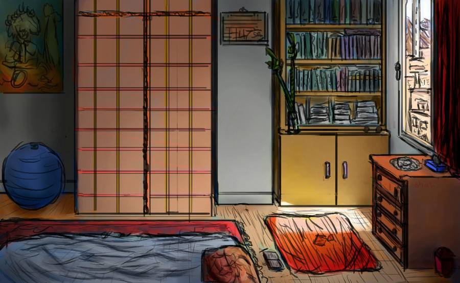 Practice - Chillin' in my bedroom by IRCSS
