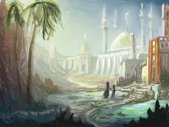 Speed painting - Haven by IRCSS