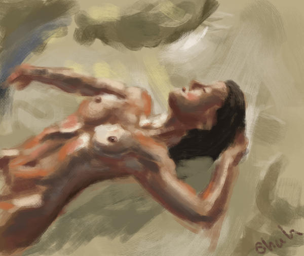 From the Sketchbook: Female Study by IRCSS