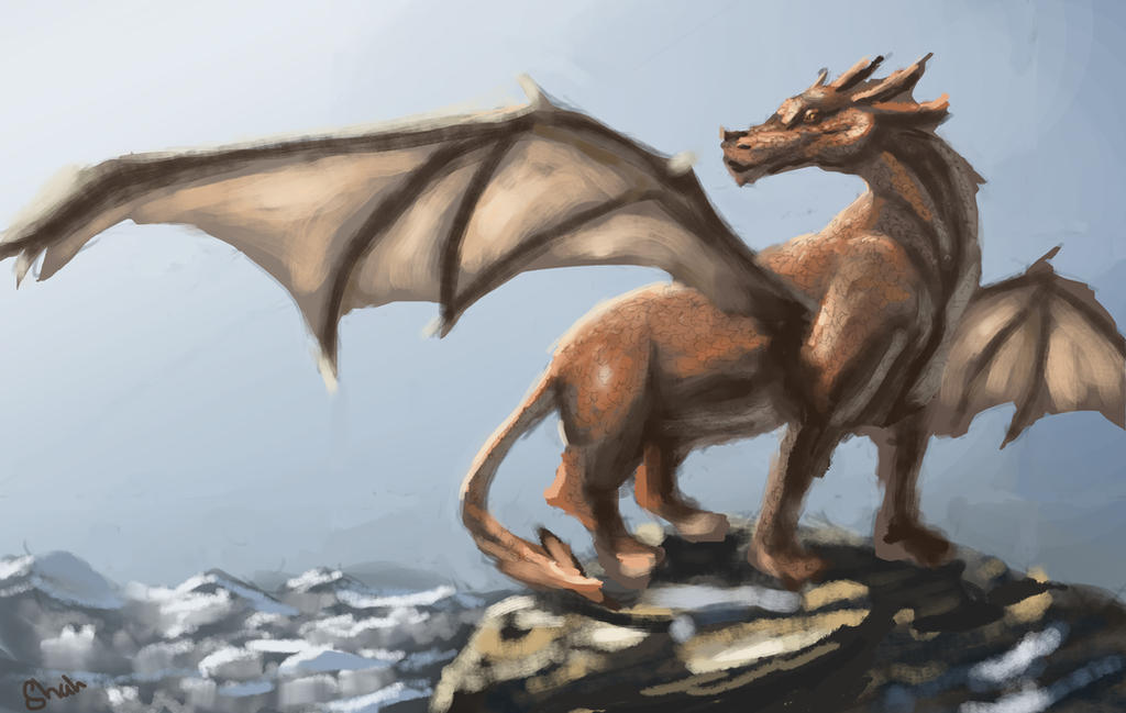 Speed painting - Call of Dragons by IRCSS