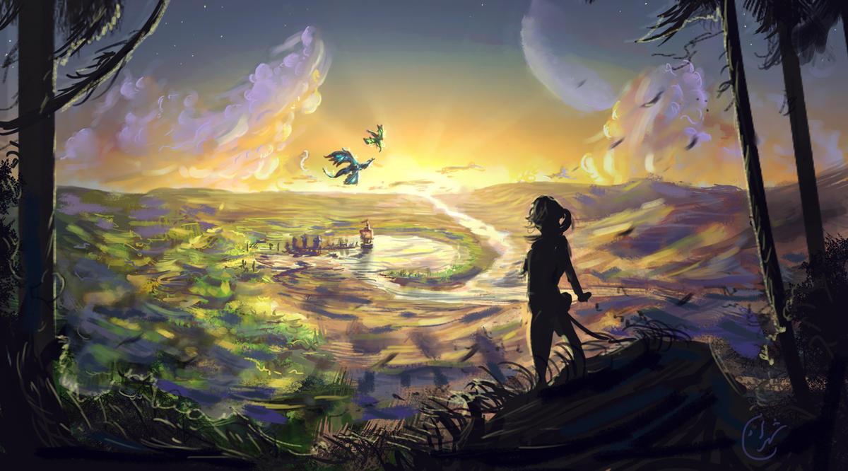Eragon - Farewell Alagaesia by IRCSS