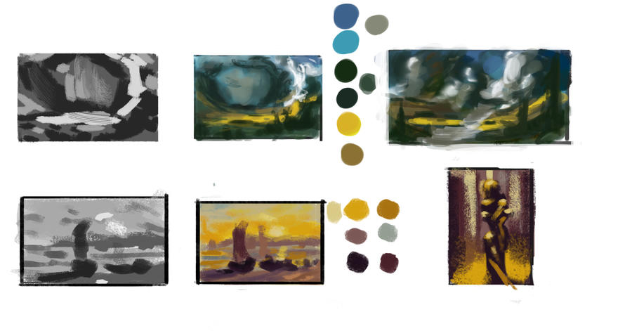 Thumbnail sketches by IRCSS