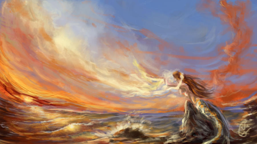 Speedpainting - Ancient love by IRCSS