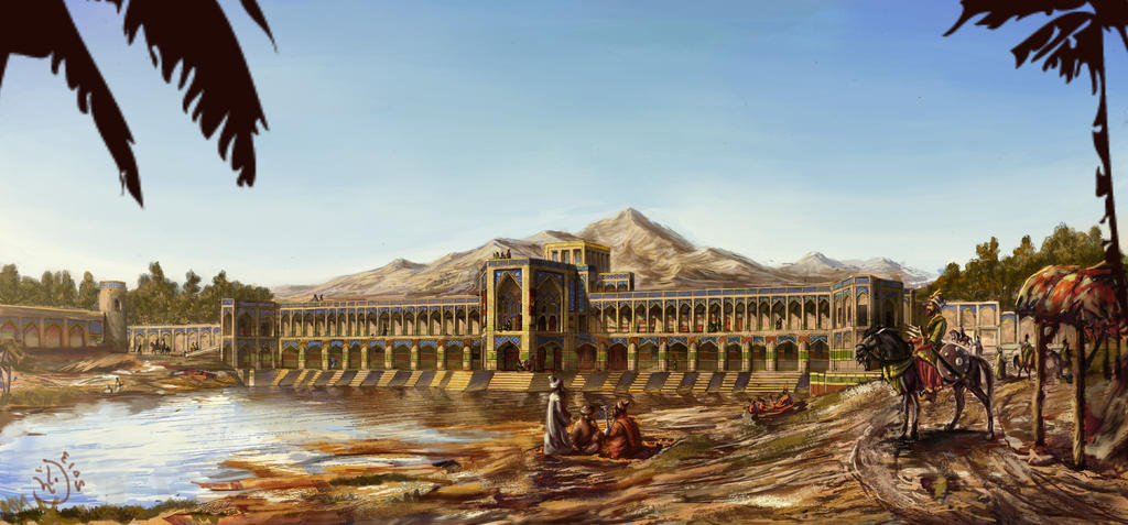 The Khaju Bridge by IRCSS
