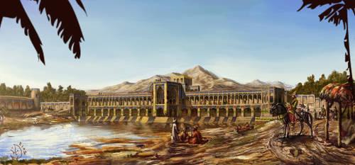 The Khaju Bridge by IRCSS