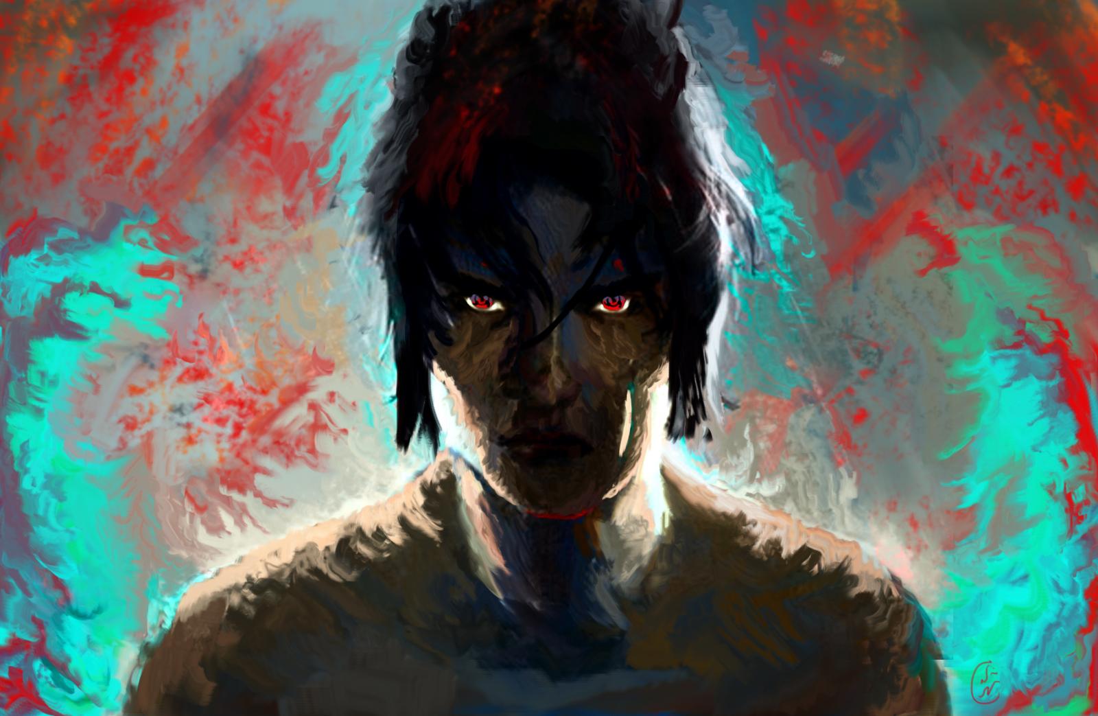 Sasuke Uchiha by IRCSS