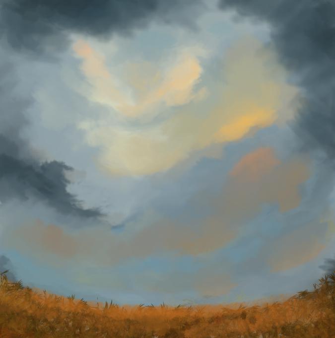 Speedpainting - Sky tone by IRCSS