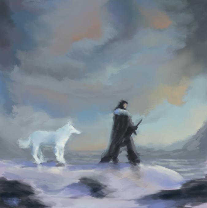 Speedpainting - Jon Snow by IRCSS