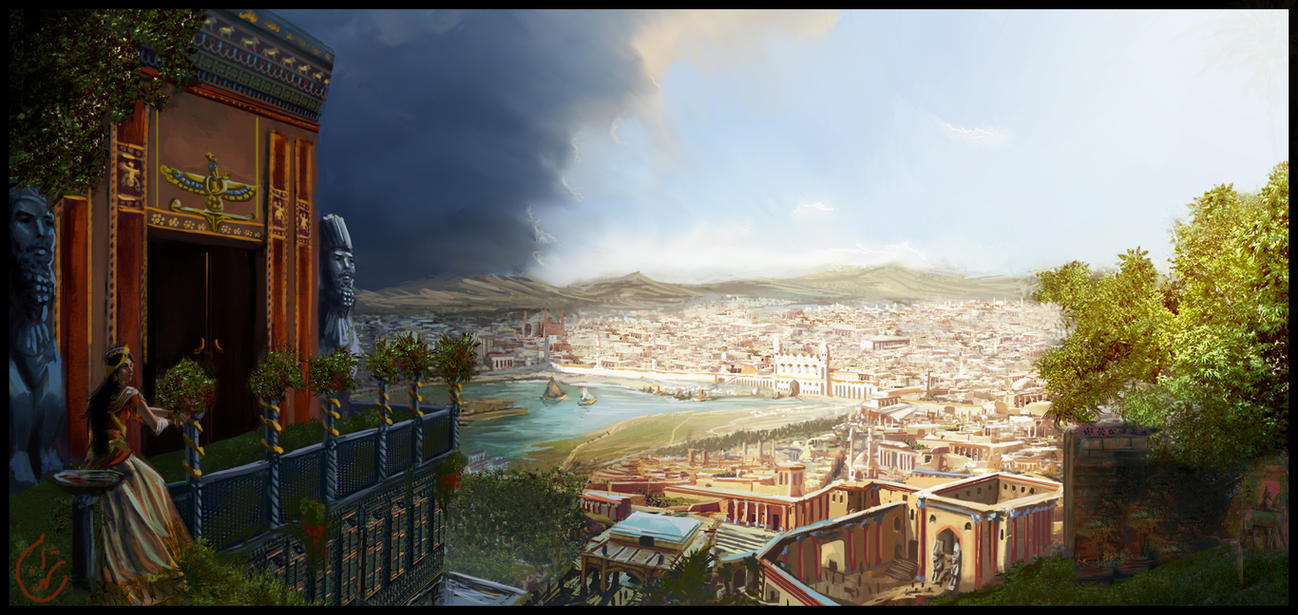 The city of Persepolis by IRCSS