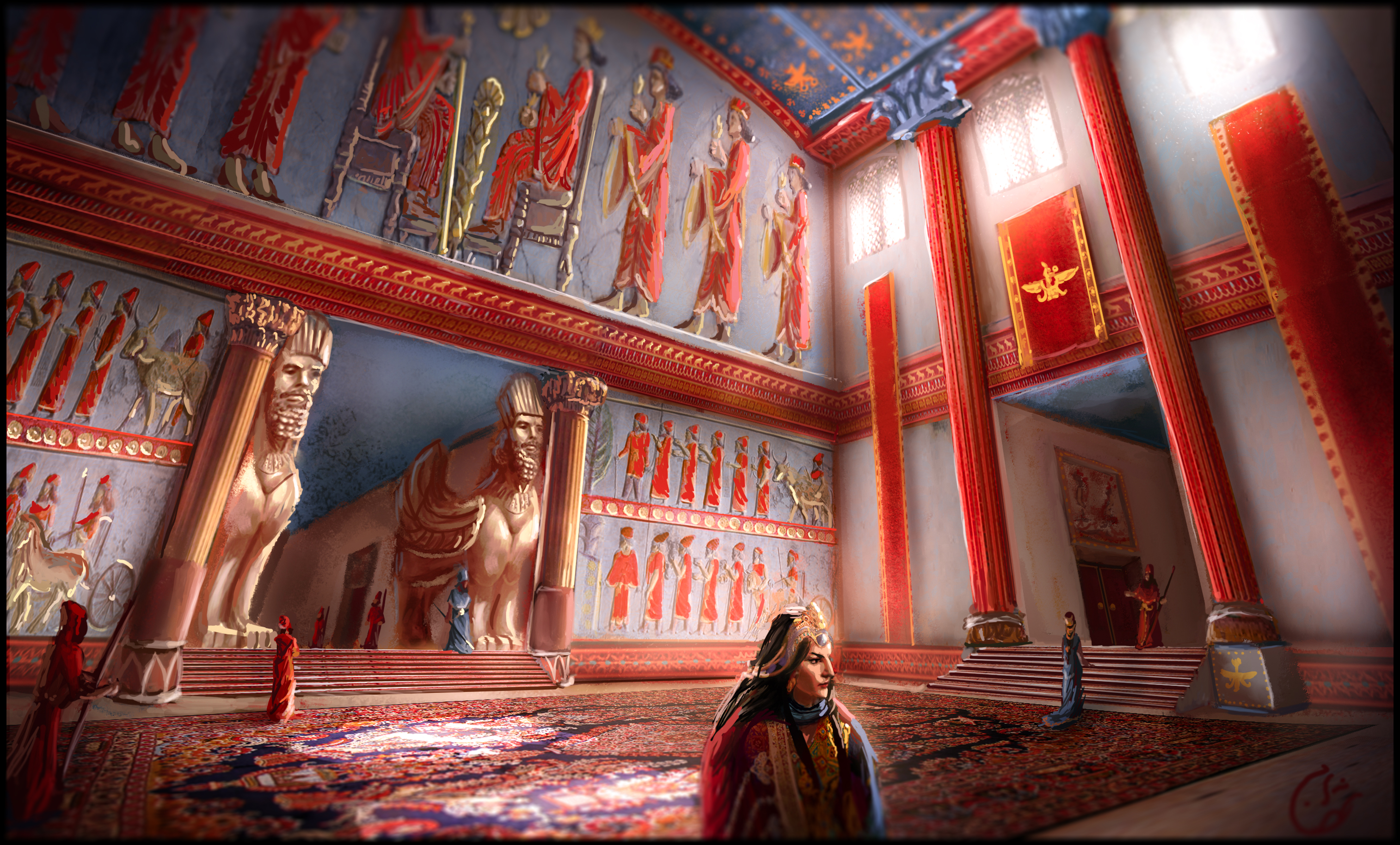 The Palace Reception by IRCSS