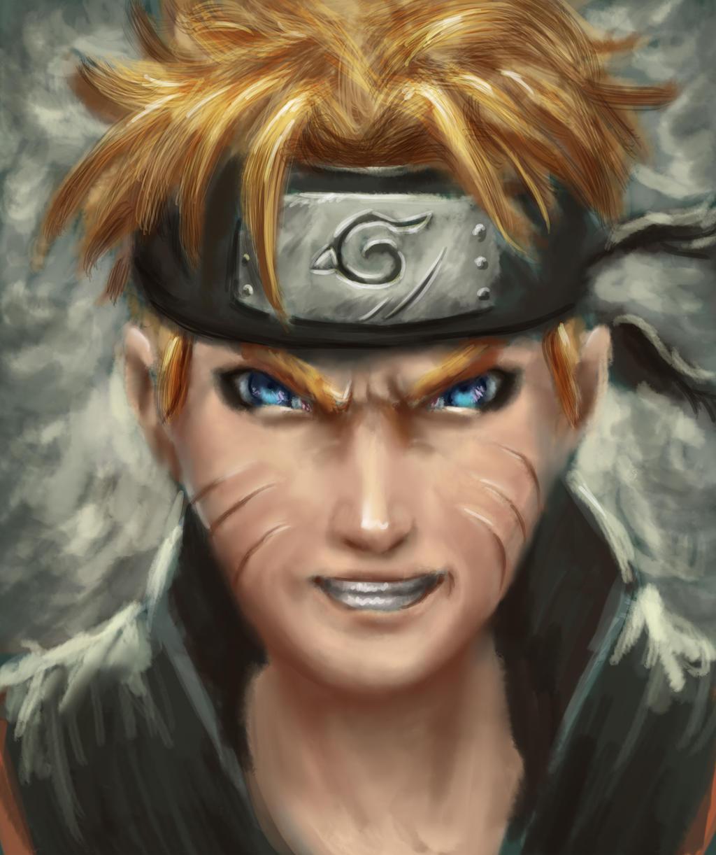 Speedpainting - Naruto by IRCSS