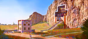 Tomb of Darius I, Naghshe Rostam