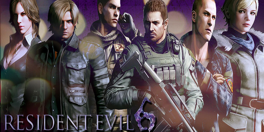 Re6 All Characters Version 2 By Jillvalentinexbsaa On Deviantart