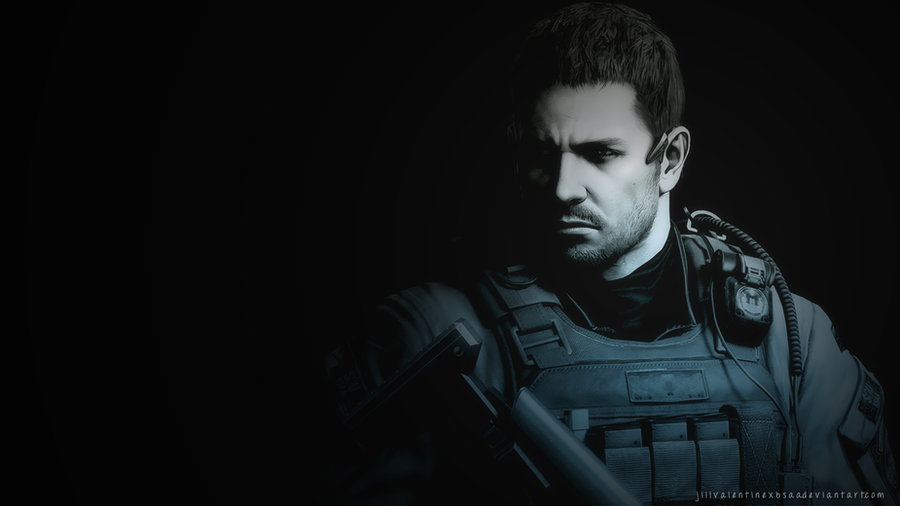 Chris Redfield Wallpaper PS3 By JillValentinexBSAA On