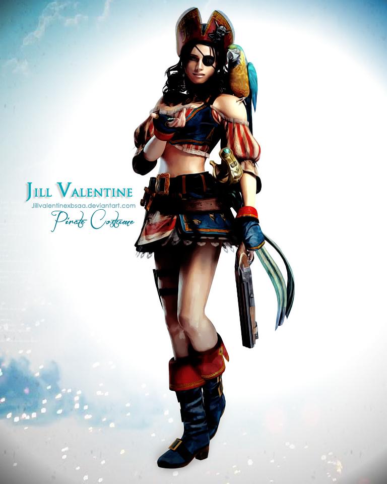 Jill Valentine Pirate by JillValentinexBSAA