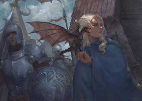 Daenerys Quee by Hsun-Ouyang
