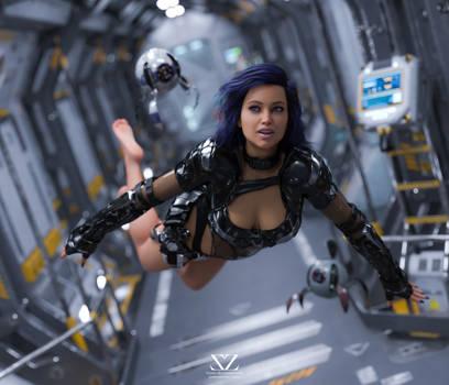 Space Odyssey 18 : Micro Gravity by Vizzee