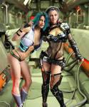 Space Odyssey : Nia and Vera