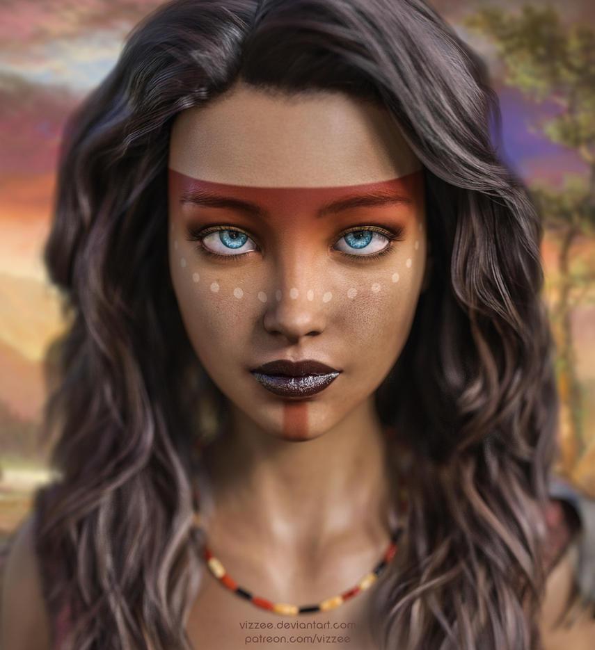 Aponi Portrait by Vizzee