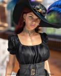 Lena (Steampunk Portrait)