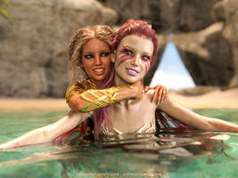 Melina and the Mermaid 2 by Vizzee