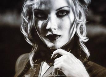 Nicole (Vintage Portrait) by Vizzee