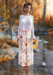 Autumn Promenade by Vizzee