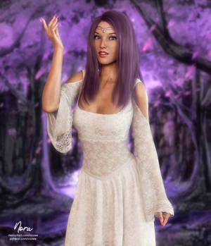 The White Queen of the Realm of Dreams