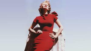 Sophia Loren - Red Dress