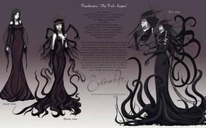 Desdemona 'The Dark Queen' - Character Sheet by biancaloran
