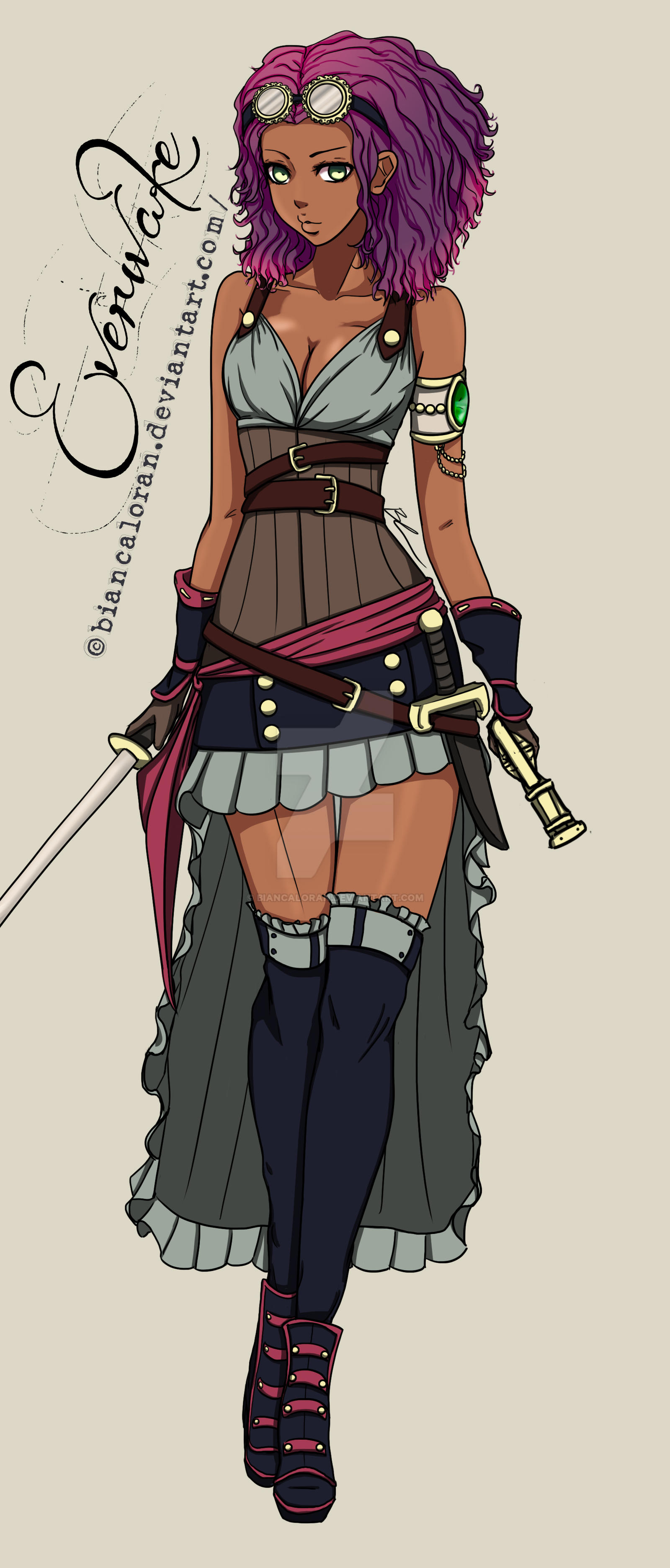 Princess Jade - Everwake Character by biancaloran