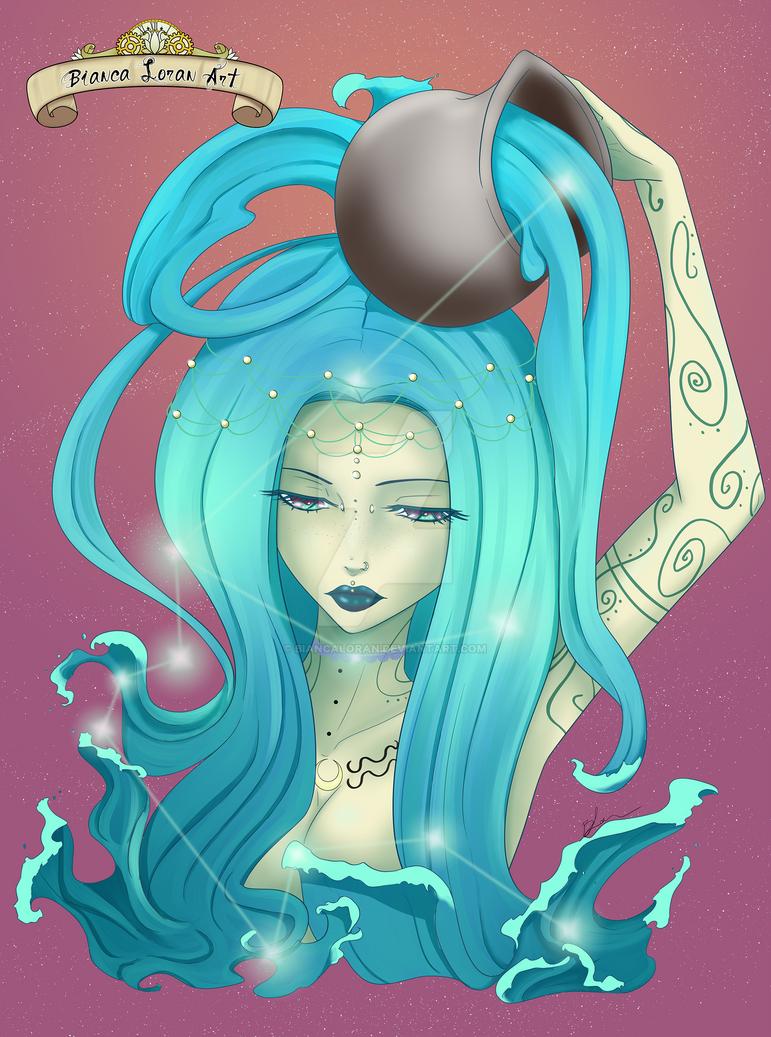 Aquarius by biancaloran