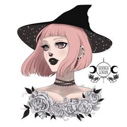 Cute Witch by biancaloran