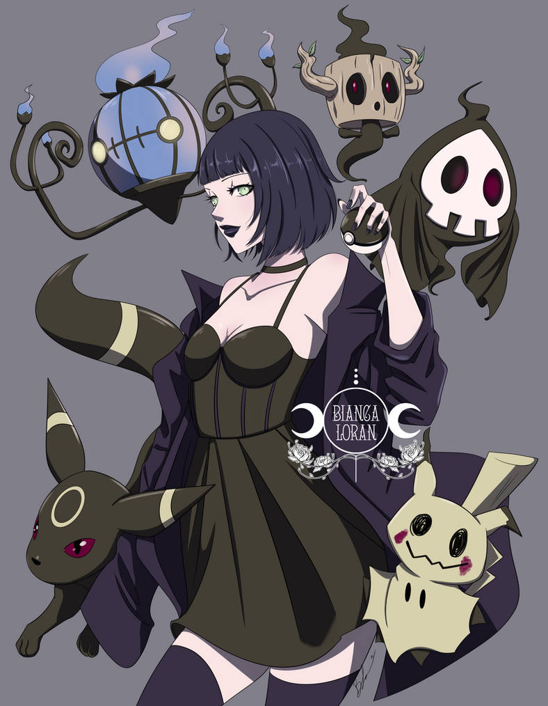 Gothic Pokemon by biancaloran