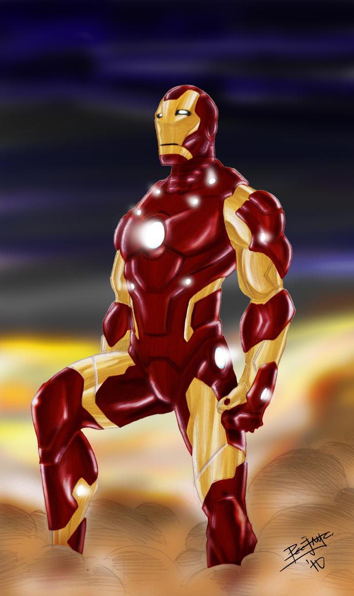Iron Man Bleeding Edge Armor by PeejayCatacutan