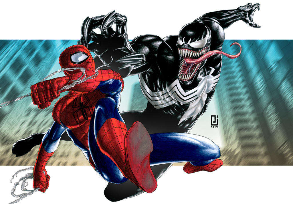 Venom spiderman art - photo#11