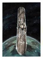 The Silver Surfer by PeejayCatacutan