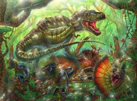 Tyrant Lizard King by PeejayCatacutan