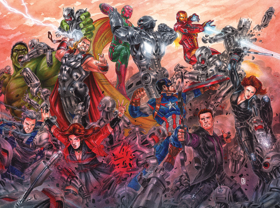 Avengers Age Of Ultron By Iloegbunam On Deviantart: Avengers: Age Of Ultron By PeejayCatacutan On DeviantArt