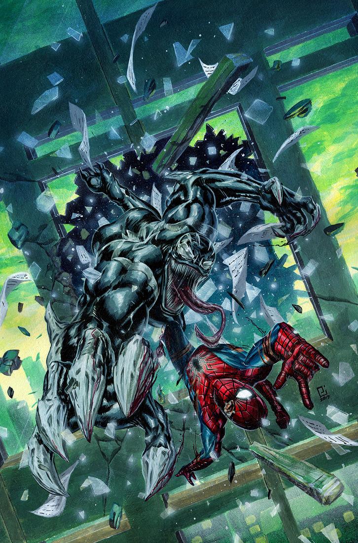 Venom vs Spider-Man by PeejayCatacutan