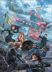 Civil War by PeejayCatacutan