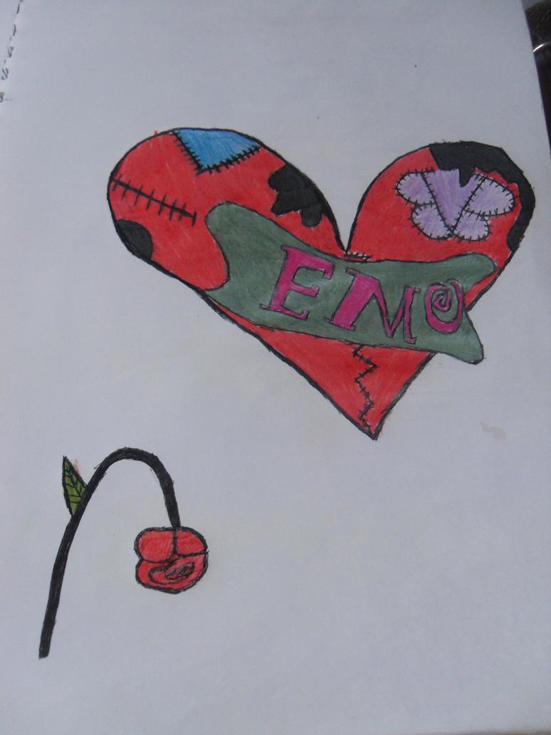 Broken Heart Tattoo Design By Gothicqueenkate