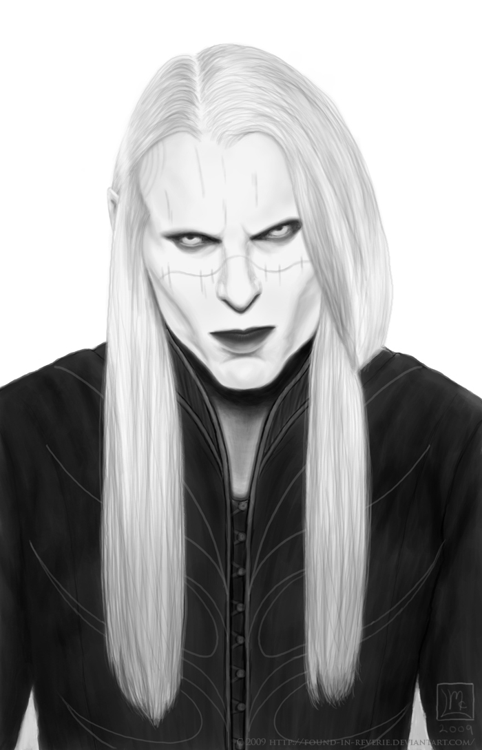 Prince Nuada Portrait by Found-In-Reverie